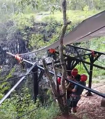 Gua Jomblang Yogyakarta Wisata Petualangan Di Perut Bumi